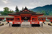 japan stock photography | Taka-Butai (High Stage), Itsukushima Shrine, Miyajima, Honshu, Japan, Image ID JPMI0040.