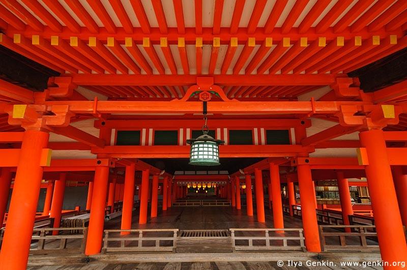 japan stock photography | Entrance to the Main Worship Hall, Itsukushima Shrine, Miyajima, Honshu, Japan, Image ID JPMI0043