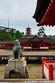 japan stock photography | Itsukushima Shrine, Goju-no-to (Five-Storied Pagoda) and Senjokaku (One Thousand Tatami Hall), Miyajima, Honshu, Japan, Image ID JPMI0044.