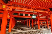 japan stock photography | Entrance to the Main Worship Hall, Itsukushima Shrine, Miyajima, Honshu, Japan, Image ID JPMI0046.