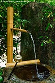 japan stock photography | Bamboo Purification Fountain, Daisho-in Temple, Miyajima, Honshu, Japan, Image ID JPMI0062.