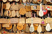 japan stock photography | Ema, Prayer Tablets, at Daisho-in Temple, Miyajima, Honshu, Japan, Image ID JPMI0065.