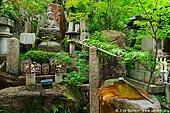 japan stock photography | God Statues in a Garden, Daisho-in Temple, Miyajima, Honshu, Japan, Image ID JPMI0070.