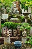 japan stock photography | God Statues in a Garden, Daisho-in Temple, Miyajima, Honshu, Japan, Image ID JPMI0071.