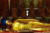 japan stock photography | Reclining Buddha, Daisho-in Temple, Miyajima, Honshu, Japan, Image ID JPMI0073.