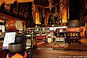 japan stock photography | Inside the Hondo, Main Hall, Daisho-in Temple, Miyajima, Honshu, Japan, Image ID JPMI0083.