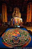 japan stock photography | Sand Mandala Inside the Hondo, Main Hall, Daisho-in Temple, Miyajima, Honshu, Japan, Image ID JPMI0086.