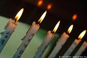japan stock photography | Prayer Candles, Daisho-in Temple, Miyajima, Honshu, Japan, Image ID JPMI0089.