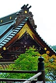 japan stock photography | Golden Roof Decoration and Maple Trees, Daisho-in Temple, Miyajima, Honshu, Japan, Image ID JPMI0090.