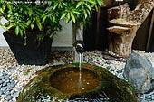 japan stock photography | Water Fountain, Daisho-in Temple, Miyajima, Honshu, Japan, Image ID JPMI0095.