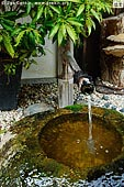 japan stock photography | Water Fountain, Daisho-in Temple, Miyajima, Honshu, Japan, Image ID JPMI0096.
