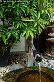 japan stock photography | Water Fountain, Daisho-in Temple, Miyajima, Honshu, Japan, Image ID JPMI0097.