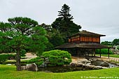 japan stock photography | Ryuten Pavilion, Korakuen Garden, Okayama, Honshu, Japan, Image ID JPOK0001.