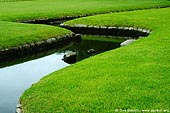 japan stock photography | Small Creek, Korakuen Garden, Okayama, Honshu, Japan, Image ID JPOK0009.