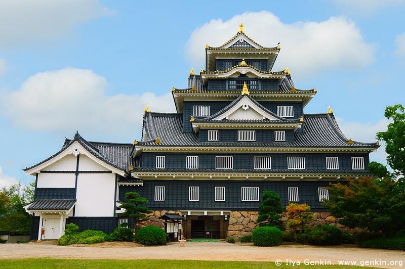 japan stock photography | Okayama Castle, Okayama, Honshu, Japan, Image ID JPOK0010