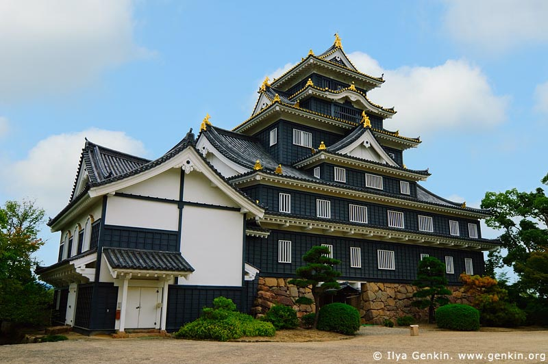 japan stock photography | Okayama Castle, Okayama, Honshu, Japan, Image ID JPOK0011