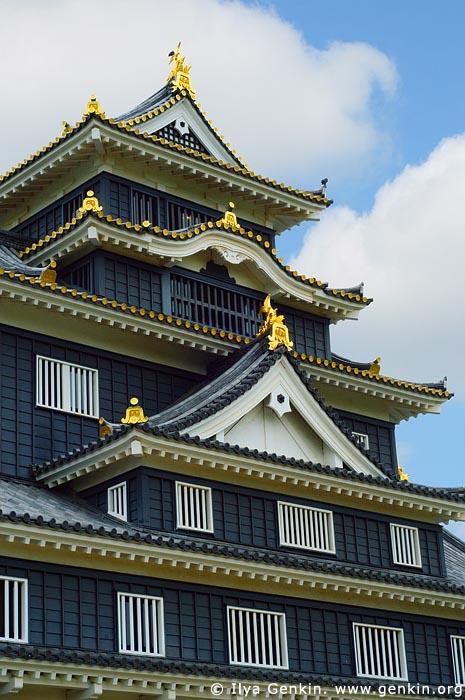 japan stock photography | Okayama Castle, Okayama, Honshu, Japan, Image ID JPOK0012