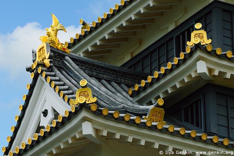 japan stock photography | Okayama Castle, Okayama, Honshu, Japan, Image ID JPOK0013