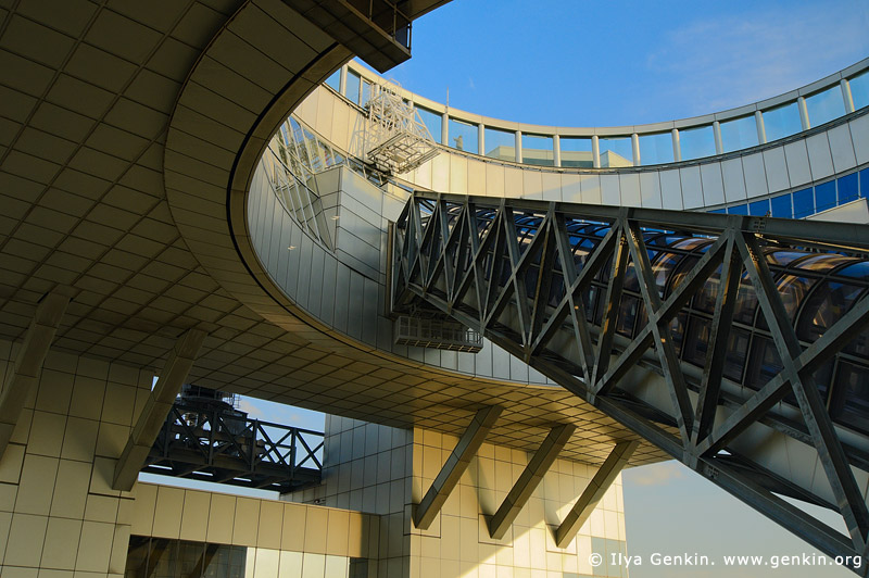 japan stock photography | Floating Garden Observatory, Umeda Sky Building, Osaka, Kansai, Honshu, Japan, Image ID JP-OSAKA-0021