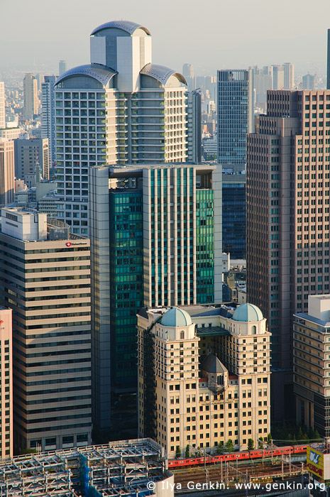 japan stock photography | Nishi-Umeda (West-Umeda) Buildings, Osaka, Kansai, Honshu, Japan, Image ID JP-OSAKA-0031