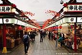japan stock photography | Nakamise-dori, Asakusa, Tokyo, Kanto Region, Honshu Island, Japan, Image ID JP-TOKYO-0018.