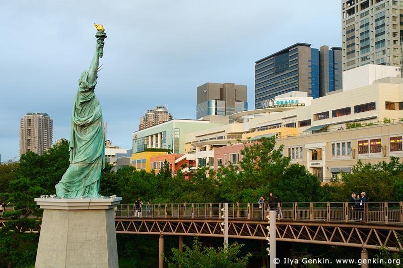 japan stock photography | Statue of Liberty, Odaiba, Tokyo, Kanto Region, Honshu Island, Japan, Image ID JP-TOKYO-0023