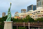 japan stock photography | Statue of Liberty, Odaiba, Tokyo, Kanto Region, Honshu Island, Japan, Image ID JP-TOKYO-0023.