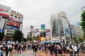 japan stock photography   Shibuya, The Busiest Intersection in the World, Shibuya, Tokyo, Kanto Region, Honshu Island, Japan, Image ID JP-TOKYO-0029.