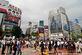 japan stock photography | Shibuya, The Busiest Intersection in the World, Shibuya, Tokyo, Kanto Region, Honshu Island, Japan, Image ID JP-TOKYO-0030.