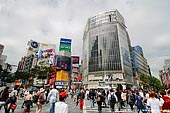 japan stock photography | Shibuya, The Busiest Intersection in the World, Shibuya, Tokyo, Kanto Region, Honshu Island, Japan, Image ID JP-TOKYO-0031.