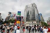 japan stock photography   Shibuya, The Busiest Intersection in the World, Shibuya, Tokyo, Kanto Region, Honshu Island, Japan, Image ID JP-TOKYO-0031.
