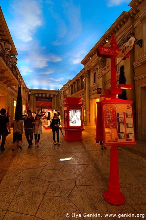 japan stock photography | Venus Fort, a Venice-themed Shopping Mall, Odaiba, Tokyo, Kanto Region, Honshu Island, Japan, Image ID JP-TOKYO-0033