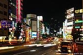 japan stock photography | Avenue in Shinjuku at Night, Shinjuku, Tokyo, Kanto Region, Honshu Island, Japan, Image ID JP-TOKYO-0038.