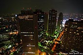 japan stock photography | Tokyo at Night, View from Observation Desk at Tokyo Metropolitan Government Building, Shinjuku, Tokyo, Kanto Region, Honshu Island, Japan, Image ID JP-TOKYO-0045.