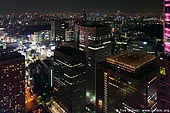 japan stock photography | Tokyo at Night, View from Observation Desk at Tokyo Metropolitan Government Building, Shinjuku, Tokyo, Kanto Region, Honshu Island, Japan, Image ID JP-TOKYO-0046.