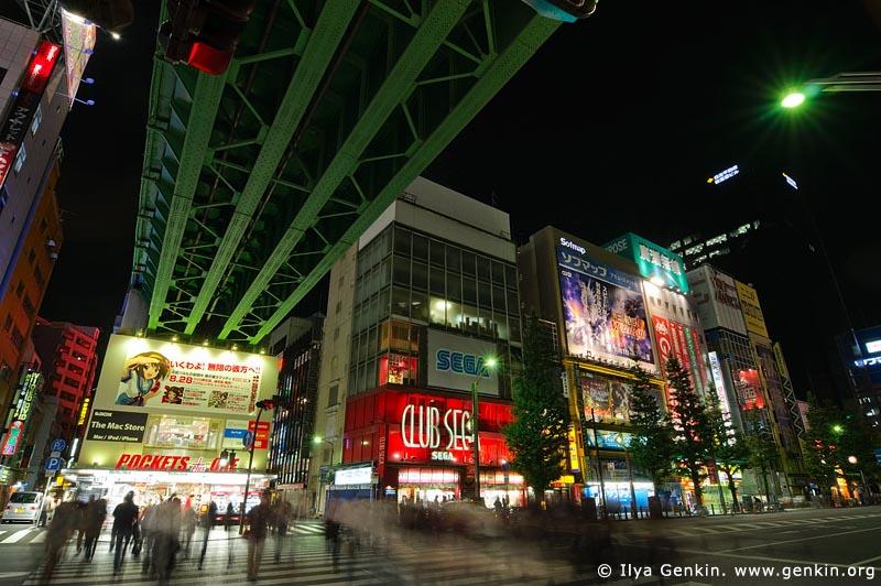 japan stock photography | Akihabara Electric Town (Denki Gai) at Night, Akihabara, Tokyo, Kanto Region, Honshu Island, Japan, Image ID JP-TOKYO-0052