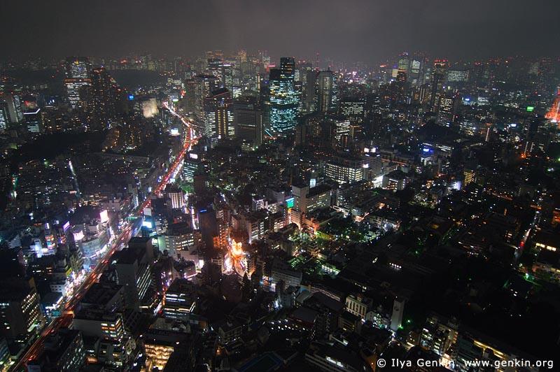 japan stock photography | Tokyo skyline from Roppongi Observation Desk, Roppongi, Tokyo, Kanto Region, Honshu Island, Japan, Image ID JP-TOKYO-0061