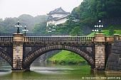 japan stock photography | Tokyo Imperial Palace and Meganebashi Bridge, Tokyo, Kanto Region, Honshu Island, Japan, Image ID JP-TOKYO-0066.