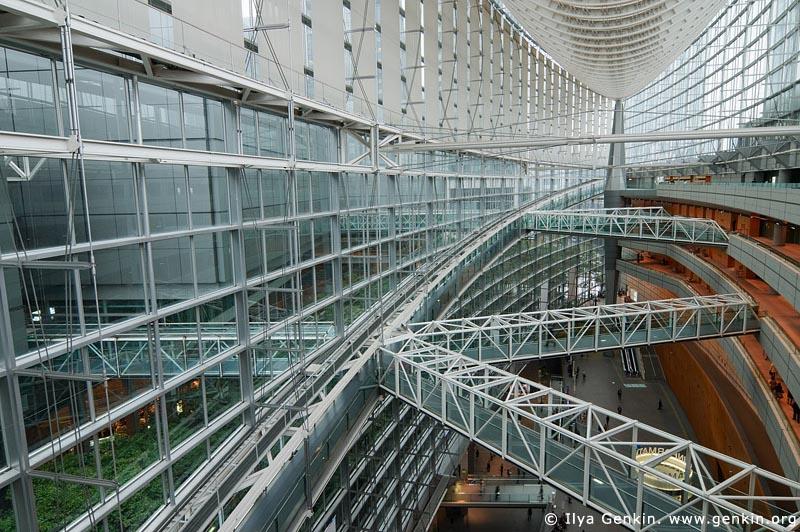 japan stock photography | Tokyo International Forum, Tokyo, Kanto Region, Honshu Island, Japan, Image ID JP-TOKYO-0076