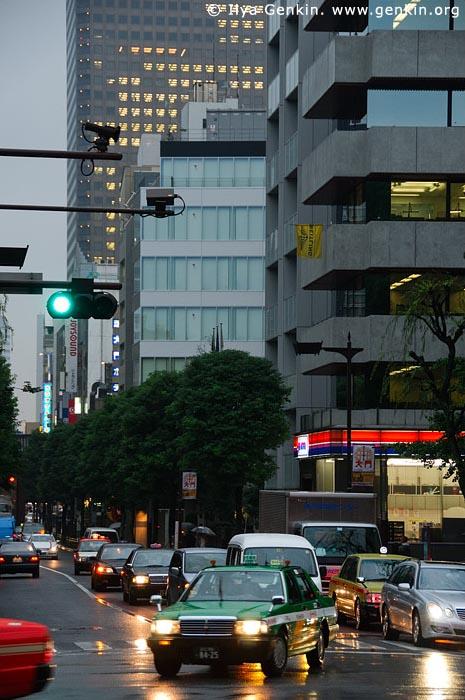 japan stock photography | Tokyo Street at Night, Shiba Park, Minato, Tokyo, Kanto Region, Honshu Island, Japan, Image ID JP-TOKYO-0078