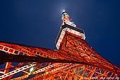 japan stock photography | Tokyo Tower at Night, Shiba Park, Minato, Tokyo, Kanto Region, Honshu Island, Japan, Image ID JP-TOKYO-0080.