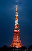japan stock photography | Tokyo Tower at Night, Shiba Park, Minato, Tokyo, Kanto Region, Honshu Island, Japan, Image ID JP-TOKYO-0082.
