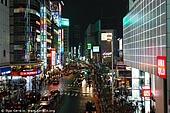 japan stock photography | Tokyo Street at Night, Shinjuku, Tokyo, Kanto Region, Honshu Island, Japan, Image ID JP-TOKYO-0084.