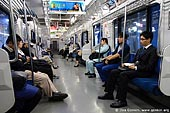 japan stock photography | People are Traveling in Subway Train, Tokyo Subway Train, Tokyo, Kanto Region, Honshu Island, Japan, Image ID JP-TRANS-0007.