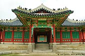 korea stock photography | One of the Entrances to Huijeondang Hall at Changdeokgung Palace in Seoul, South Korea, Jongno-gu, Seoul, South Korea, Image ID KR-SEOUL-CHANGDEOKGUNG-0009.