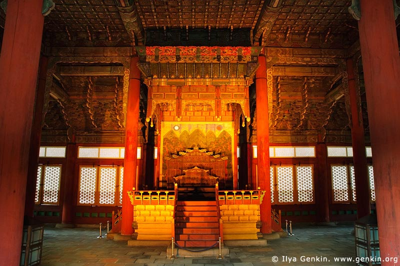 korea stock photography | The Throne in Junghwajeon Hall at Deoksugung Palace in Seoul, South Korea, Seoul, South Korea, Image ID KR-SEOUL-DEOKSUGUNG-0008