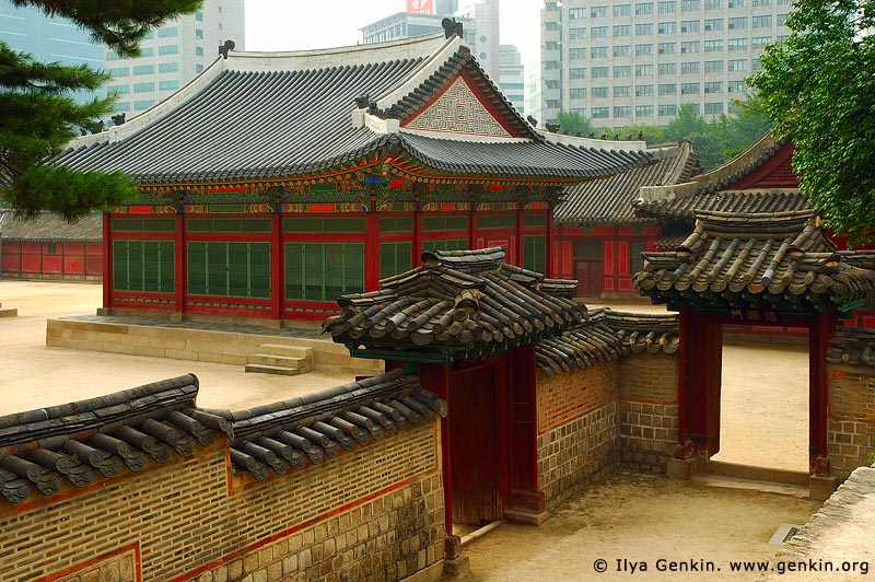 korea stock photography | Deokhongjeon Hall at Deoksugung Palace in Seoul, South Korea, Seoul, South Korea, Image ID KR-SEOUL-DEOKSUGUNG-0013