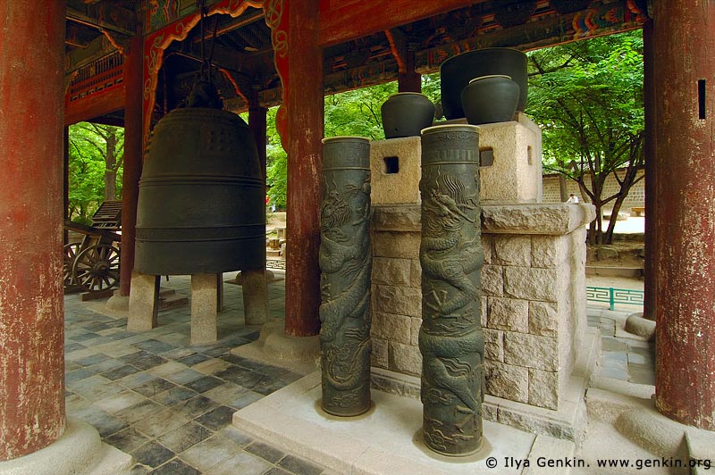 korea stock photography   Heungcheonsa Bell and Water Clock at Deoksugung Palace in Seoul, South Korea, Seoul, South Korea, Image ID KR-SEOUL-DEOKSUGUNG-0017