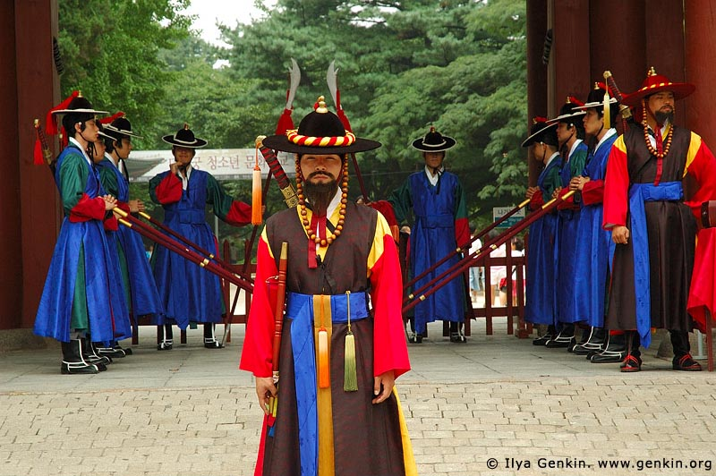 korea stock photography | Captain of the Guard at Deoksugung Palace in Seoul, South Korea, Seoul, South Korea, Image ID KR-SEOUL-DEOKSUGUNG-0018