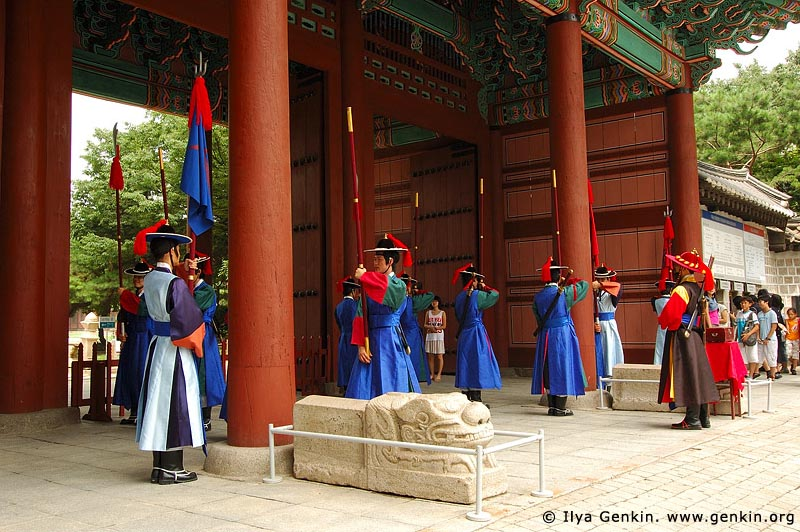 korea stock photography | The Guard at Deoksugung Palace in Seoul, South Korea, Seoul, South Korea, Image ID KR-SEOUL-DEOKSUGUNG-0019
